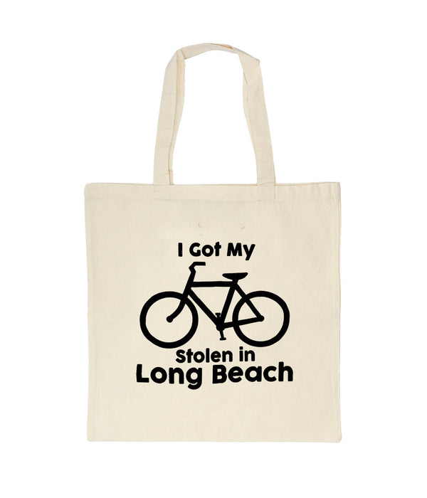 I Got My Bike Stolen In Long Beach Tote Bag