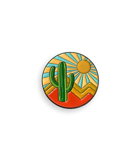 Desert Escape Pin