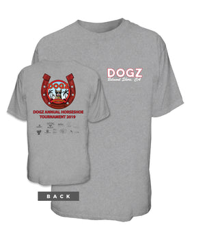 Dogz Horseshoe Tournament Tee