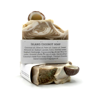 Island Coconut Soap