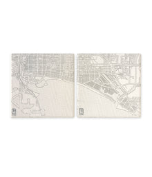 Long Beach Streets Coaster Set