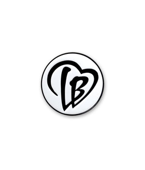 Love LB Enamel Pin