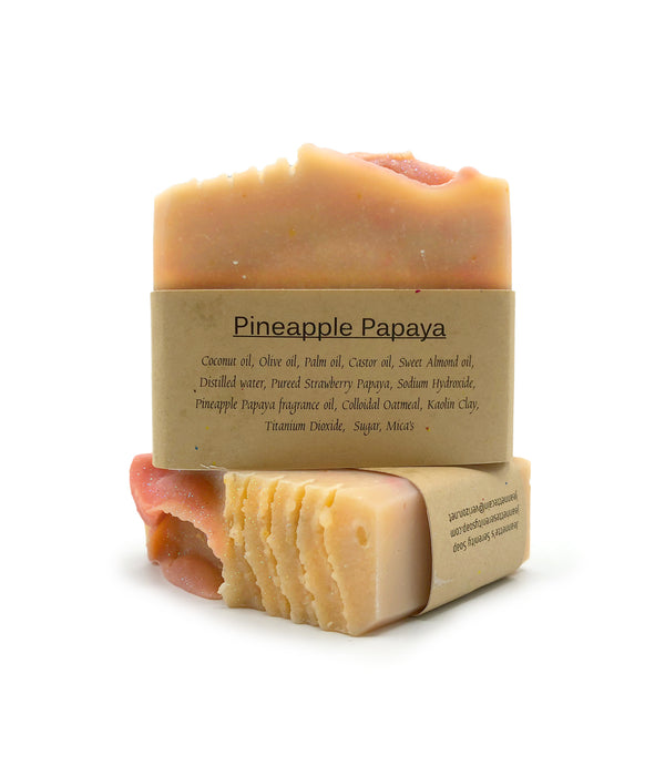 Pineapple and Papaya Soap