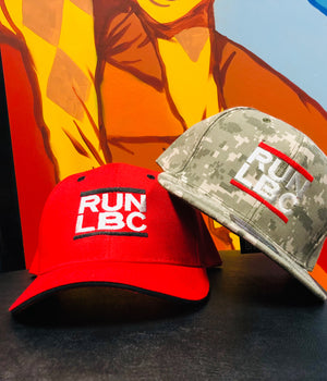 Run LBC Snapback Trucker Hat