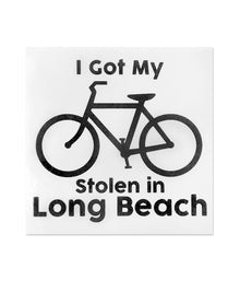 I Got My Bike Stolen Sticker