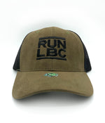 Run LBC Suede Trucker Hat