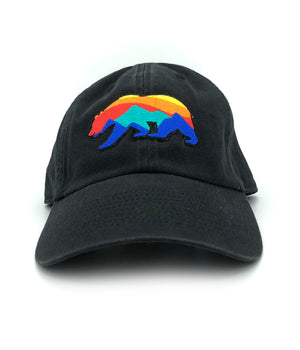 Sunrise Bear Dad Hat