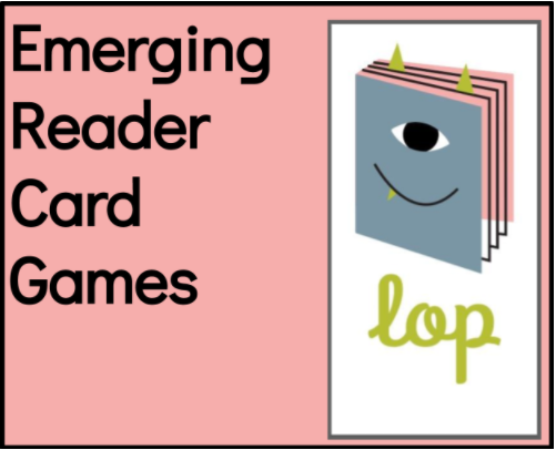 Emerging Reader Card Games