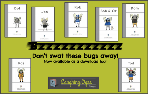 Short o Bug Books Bundle Digital  Download
