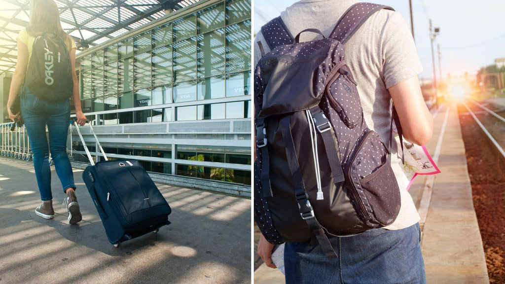 Backpack vs. carry-on luggage. What is the best option for a weekend getaway?-My Gaia Travel Buddy