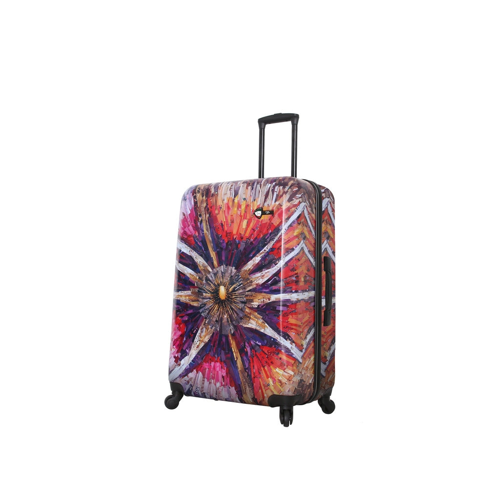 Mia Toro ITALY Spider Eye 3PC Hardside Luggage Set - My Gaia Travel Buddy
