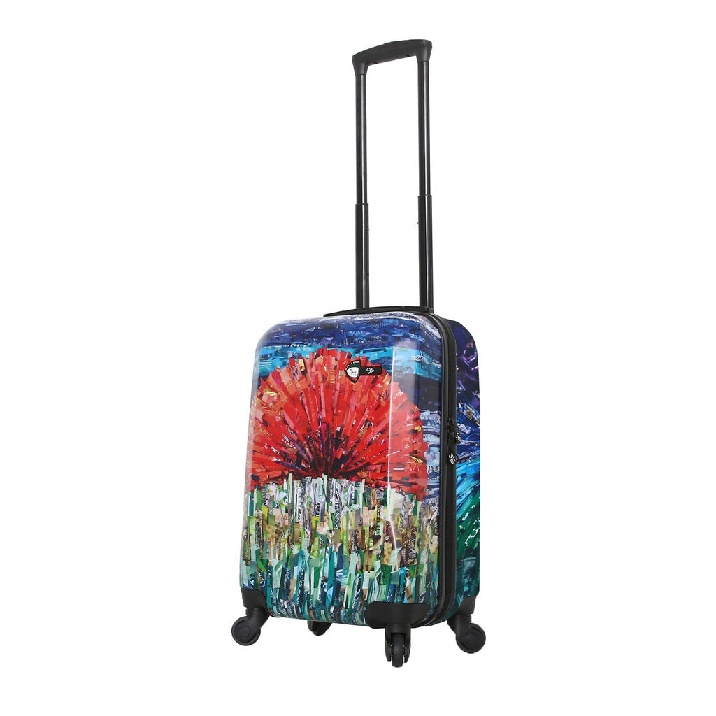 Mia Toro ITALY Sunrise 3PC Hardside Luggage Set - My Gaia Travel Buddy