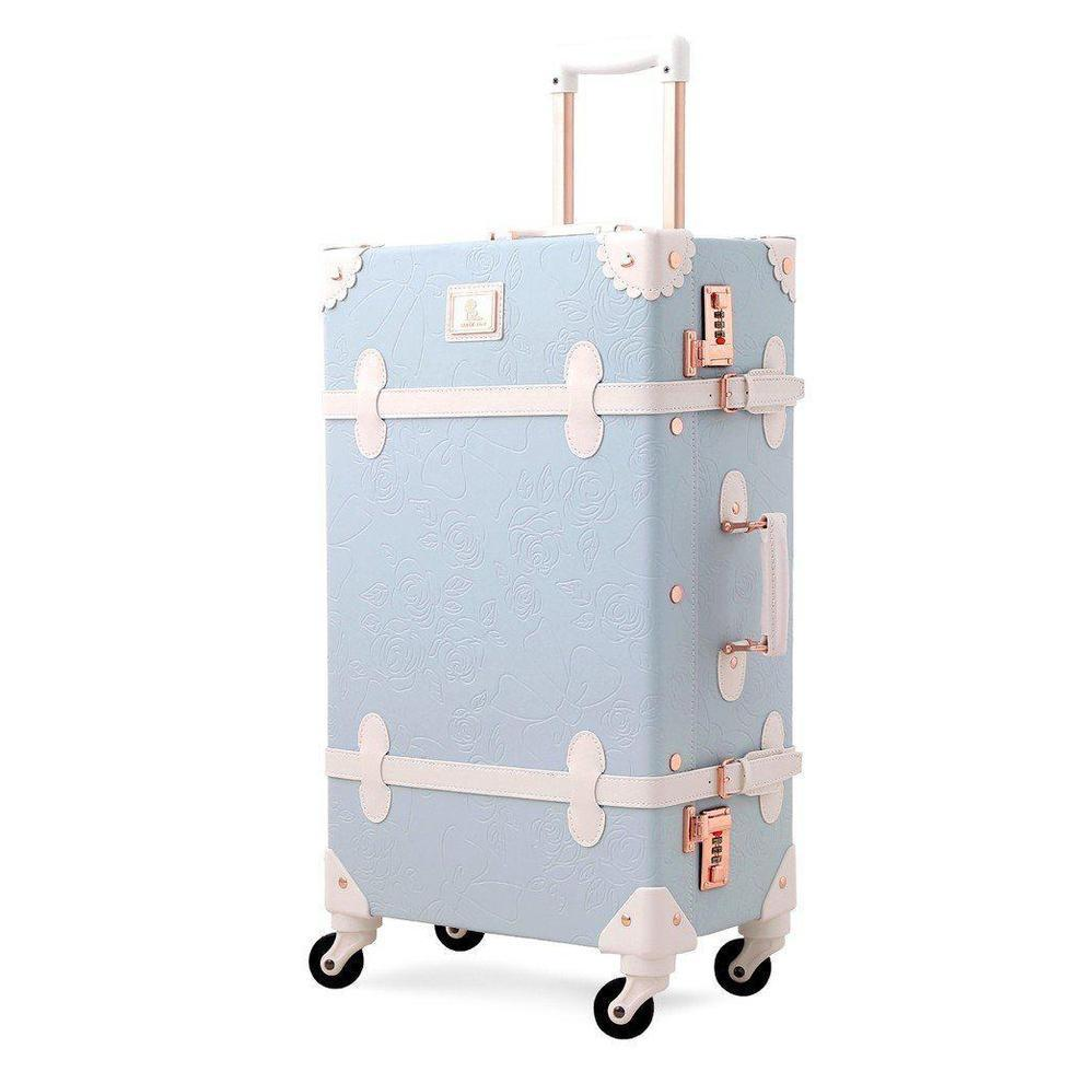 Vintage Style Cherry Blossom Carry-on Luggage