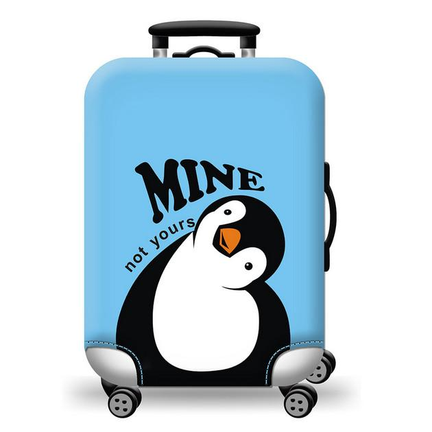 North Pole suitcase Cover - My Gaia Travel Buddy