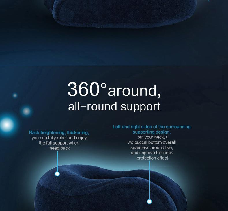 Perfect Departing Neck Pillow - My Gaia Travel Buddy