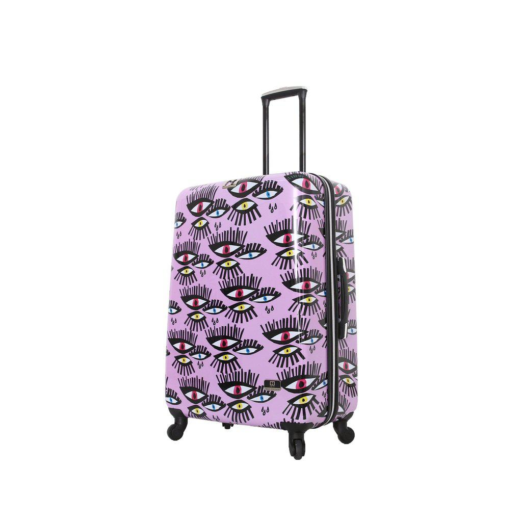 Halina H Bouffants & Broken Hearts BOLD EYES Hardside Luggage-hontus-My Gaia Travel Buddy