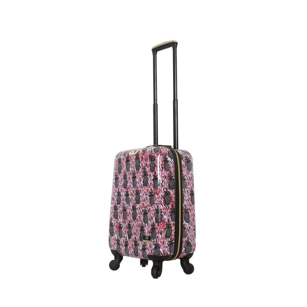 Halina H Bouffants & Broken Hearts PINEAPPLES Hardside Luggage-hontus-My Gaia Travel Buddy