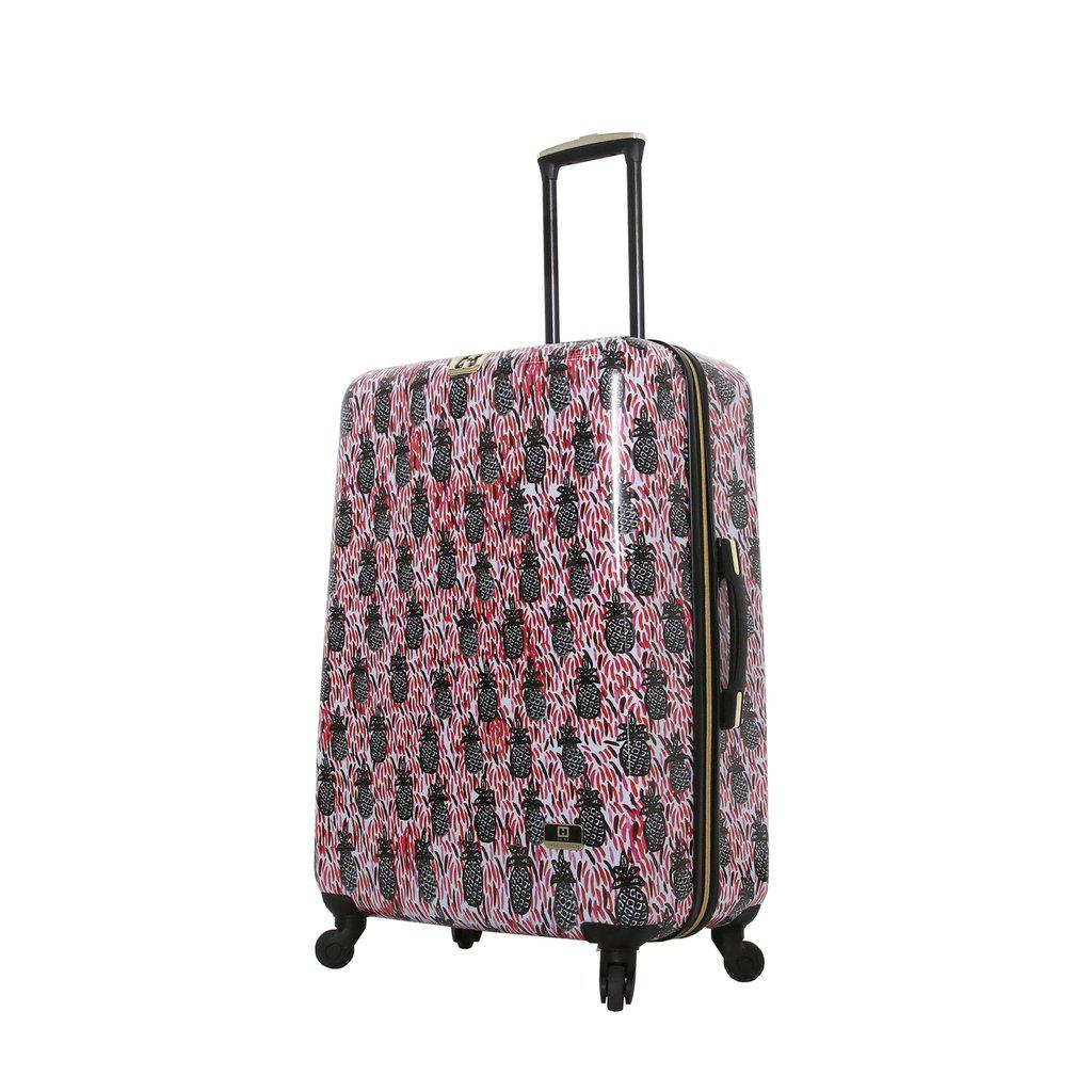 Halina H Bouffants & Broken Hearts PINEAPPLES Hardside Luggage - My Gaia Travel Buddy