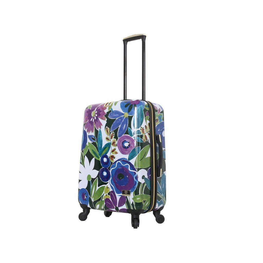 Halina H Collier Campbell GRANDIFLORA Hardside Checked-In Luggage-hontus-My Gaia Travel Buddy