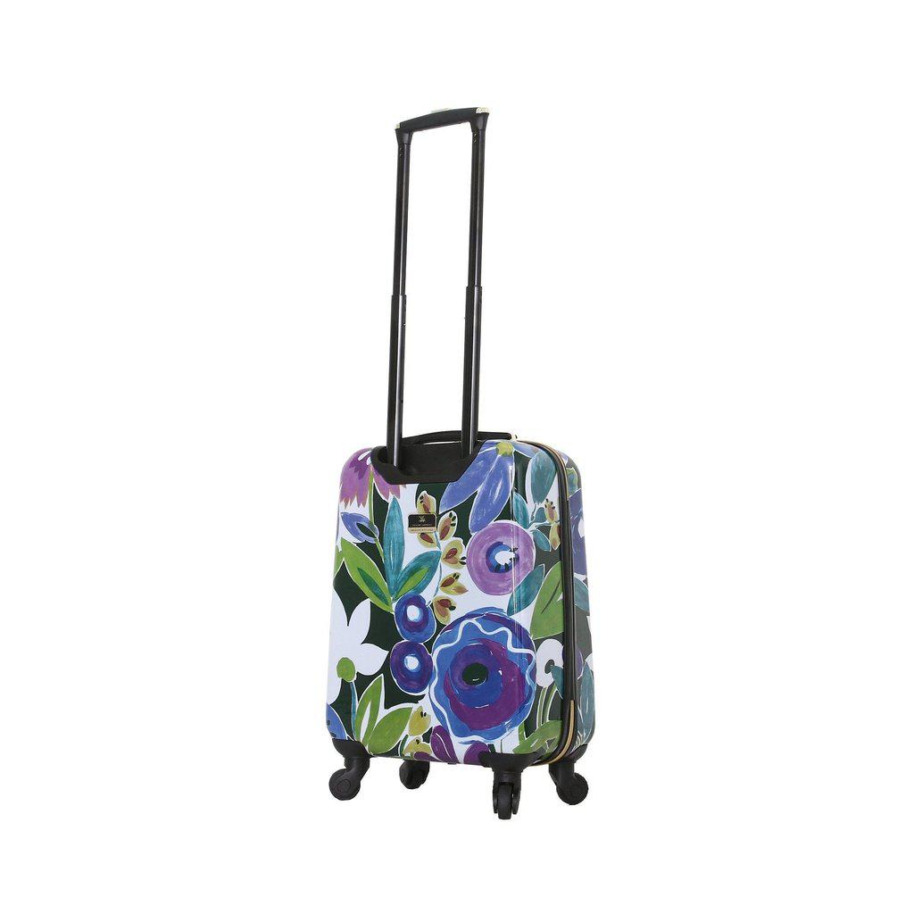 Halina H Collier Campbell GRANDIFLORA Hardside Checked-In Luggage - My Gaia Travel Buddy