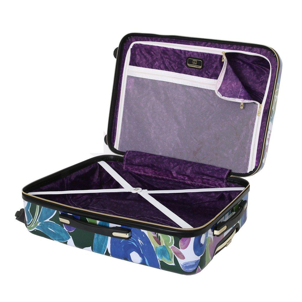 Halina H Collier Campbell GRANDIFLORA Hardside Carry-On Luggage-hontus-My Gaia Travel Buddy