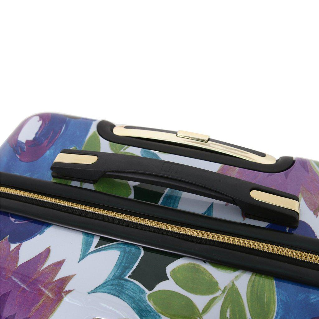 Halina H Collier Campbell GRANDIFLORA Hardside Carry-On Luggage - My Gaia Travel Buddy