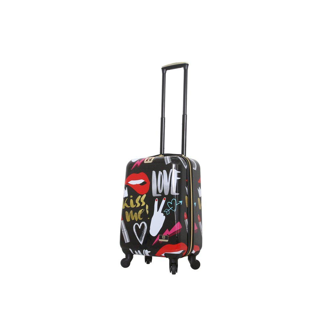 Halina H Nikki Chu KISS ME Hardside Luggage-hontus-My Gaia Travel Buddy