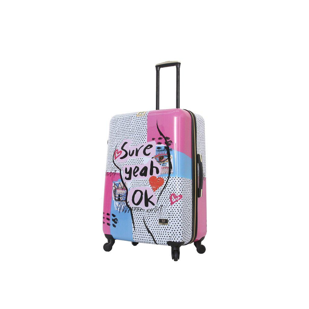 Halina H Nikki Chu SURE Hardside Luggage 3PC Set - My Gaia Travel Buddy