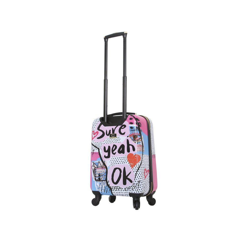 Halina H Nikki Chu SURE Hardside Luggage 3PC Set-hontus-My Gaia Travel Buddy
