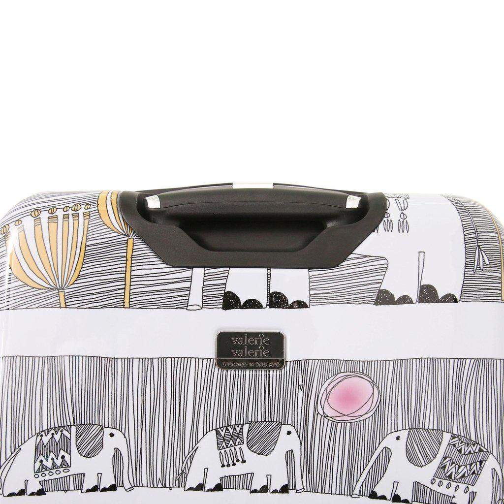 Halina H Valerie Valerie ELEPHANTS Hardside Luggage - My Gaia Travel Buddy
