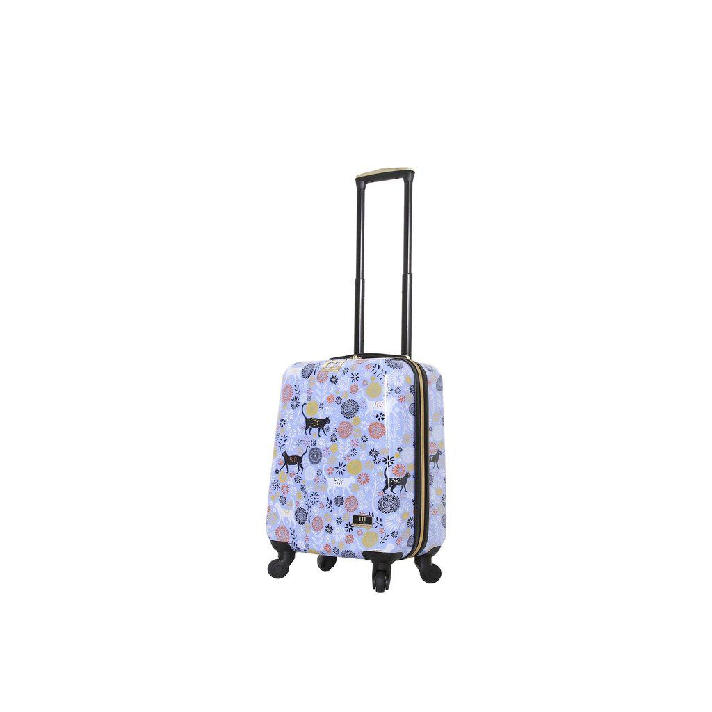 Halina H Vicky Yorke URBAN JUNGLE CATS Hardside Luggage-hontus-My Gaia Travel Buddy