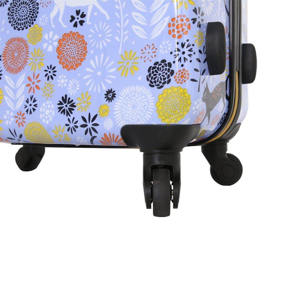 Halina H Vicky Yorke URBAN JUNGLE CATS Hardside Luggage - My Gaia Travel Buddy