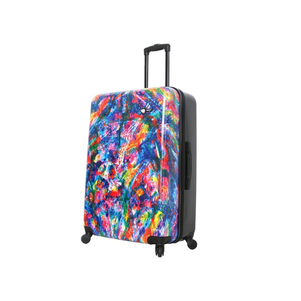 Mia Toro Duaiv Splash Hardside Luggage - My Gaia Travel Buddy