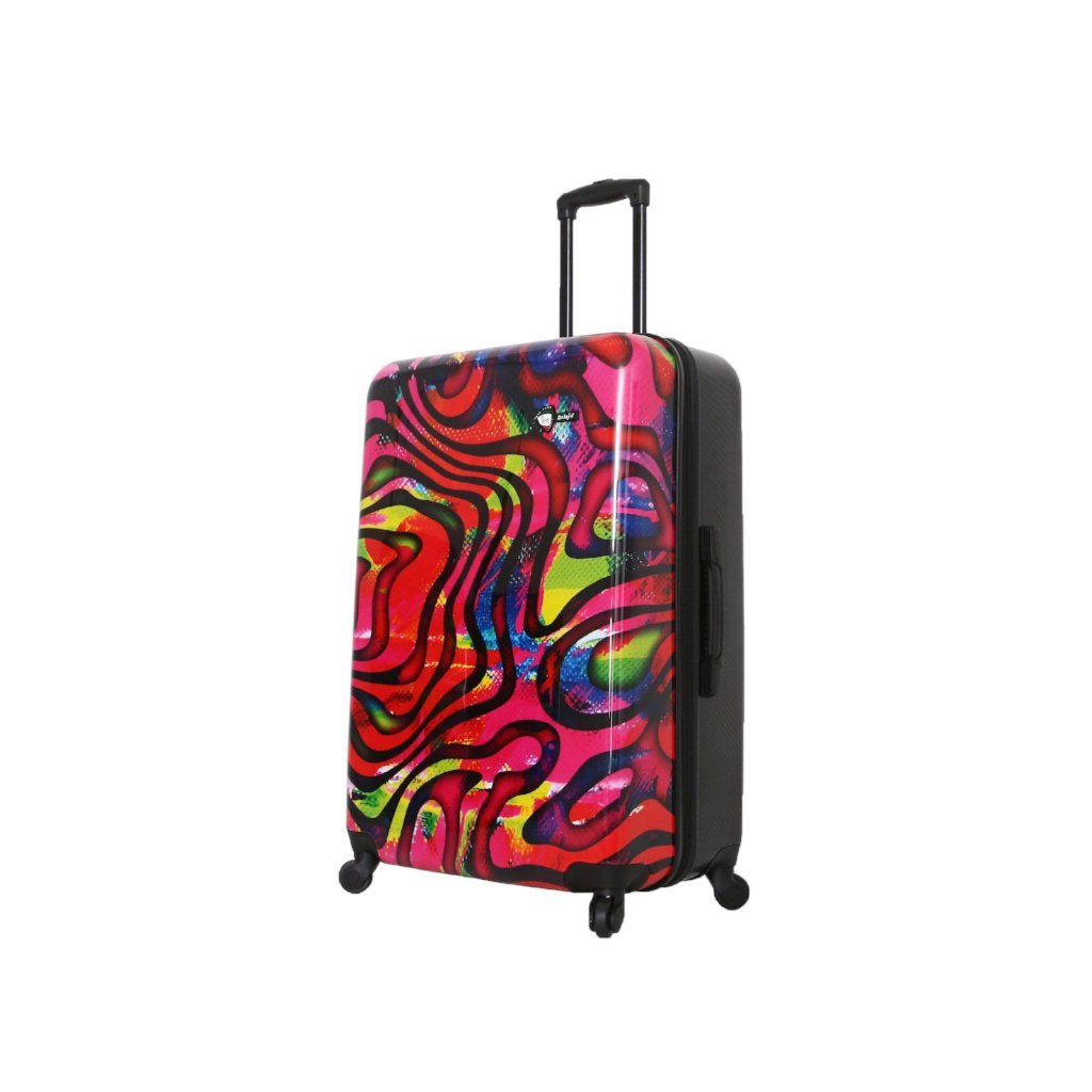 Mia Toro Duaiv Zebre Hardside Luggage - My Gaia Travel Buddy