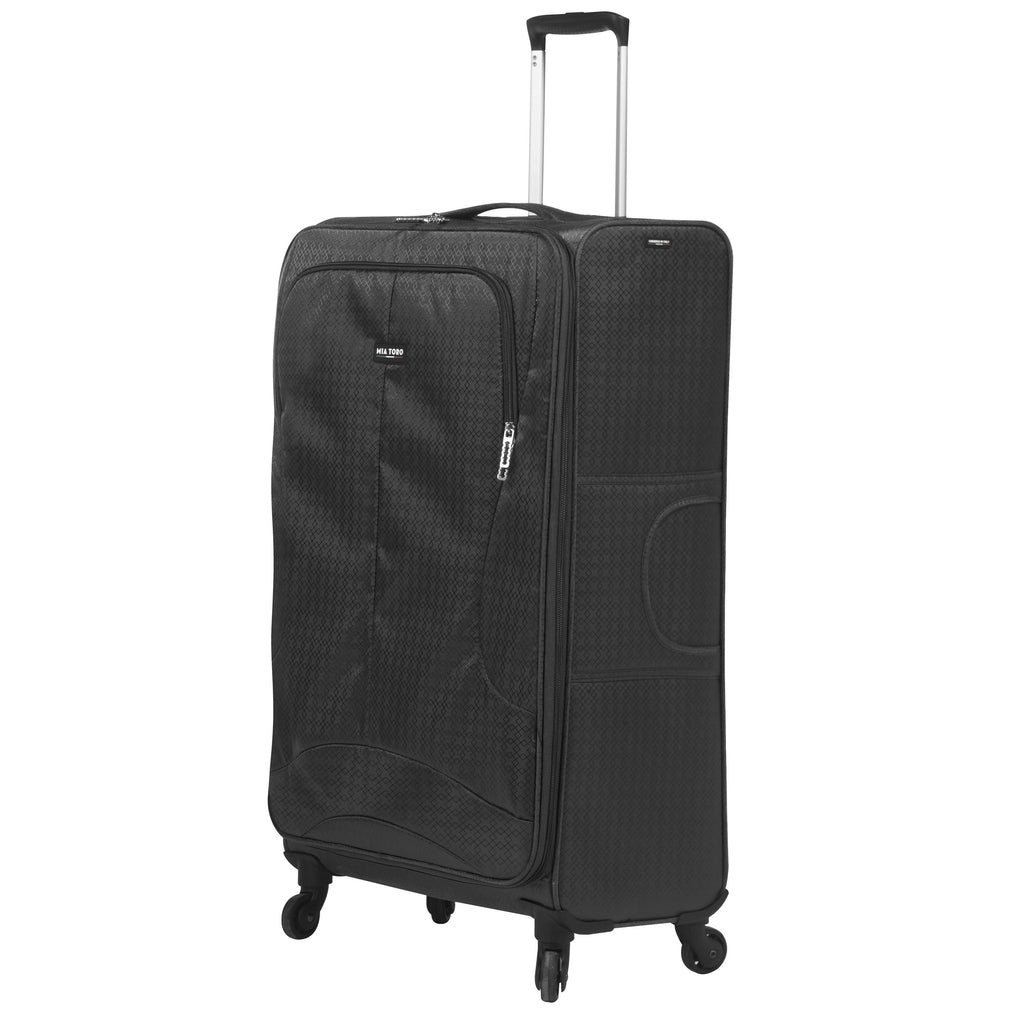 Mia Toro ITALY Apennine Softside 28 Inch Spinner Luggage - My Gaia Travel Buddy