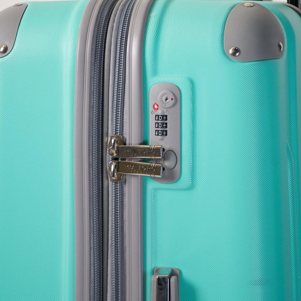 Mia Toro ITALY Gelato Hardside Spinner Luggage - My Gaia Travel Buddy