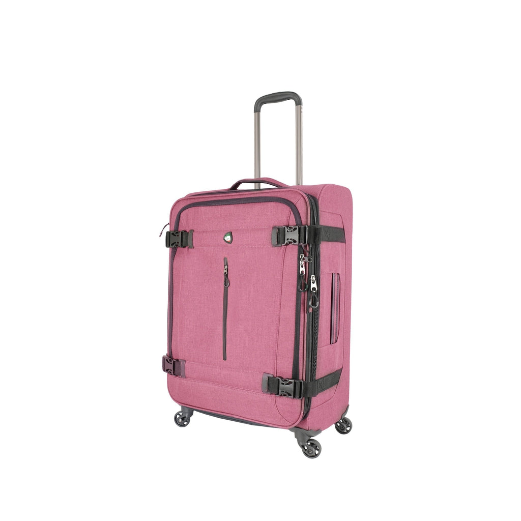 Mia Toro ITALY Ischia Softside Spinner Luggage - My Gaia Travel Buddy
