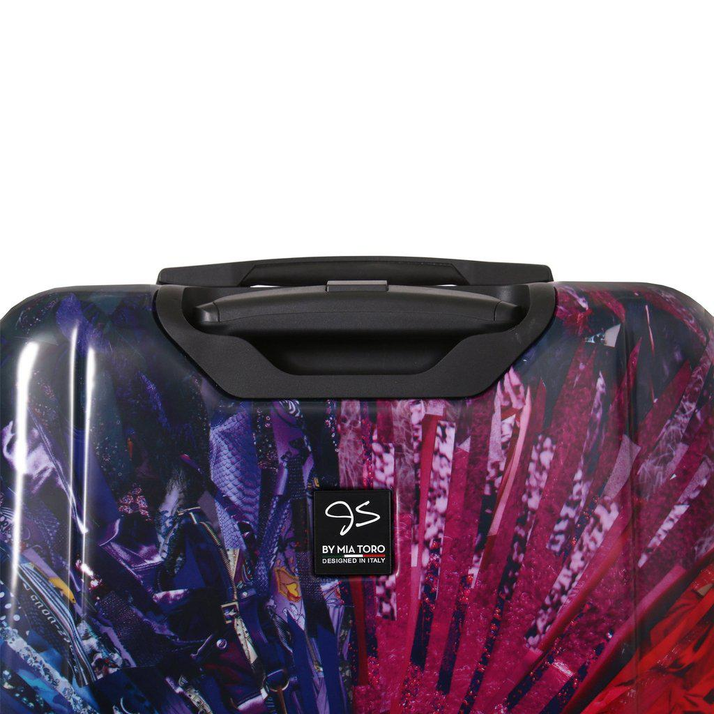 Mia Toro Italy Jennifer L. Schmidt Color Wheel Hardside Spinner Luggage 3PC Set - My Gaia Travel Buddy