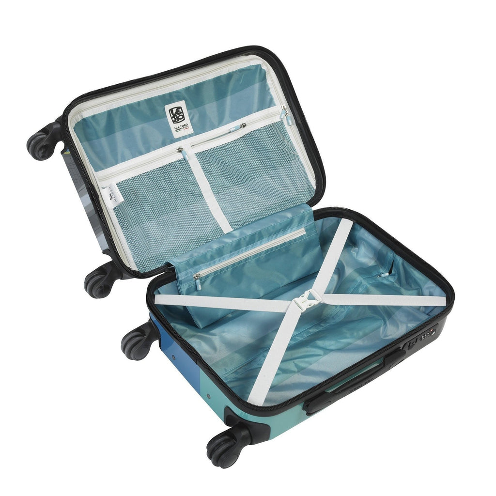 Mia Toro ITALY Lebo-Destination USA Hardside Luggage - My Gaia Travel Buddy