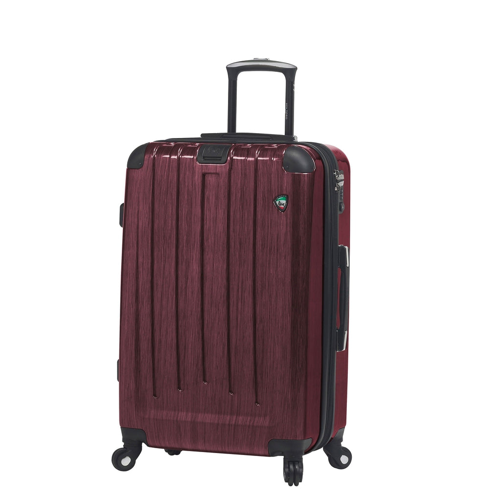 Mia Toro ITALY Lucido pennello Hardside 26 Inch Spinner Luggage - My Gaia Travel Buddy
