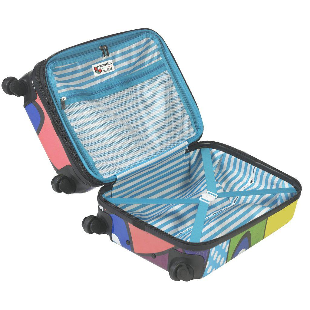 Mia Toro ITALY M by Mia Toro-Hamsa Hardside Spinner Luggage - My Gaia Travel Buddy