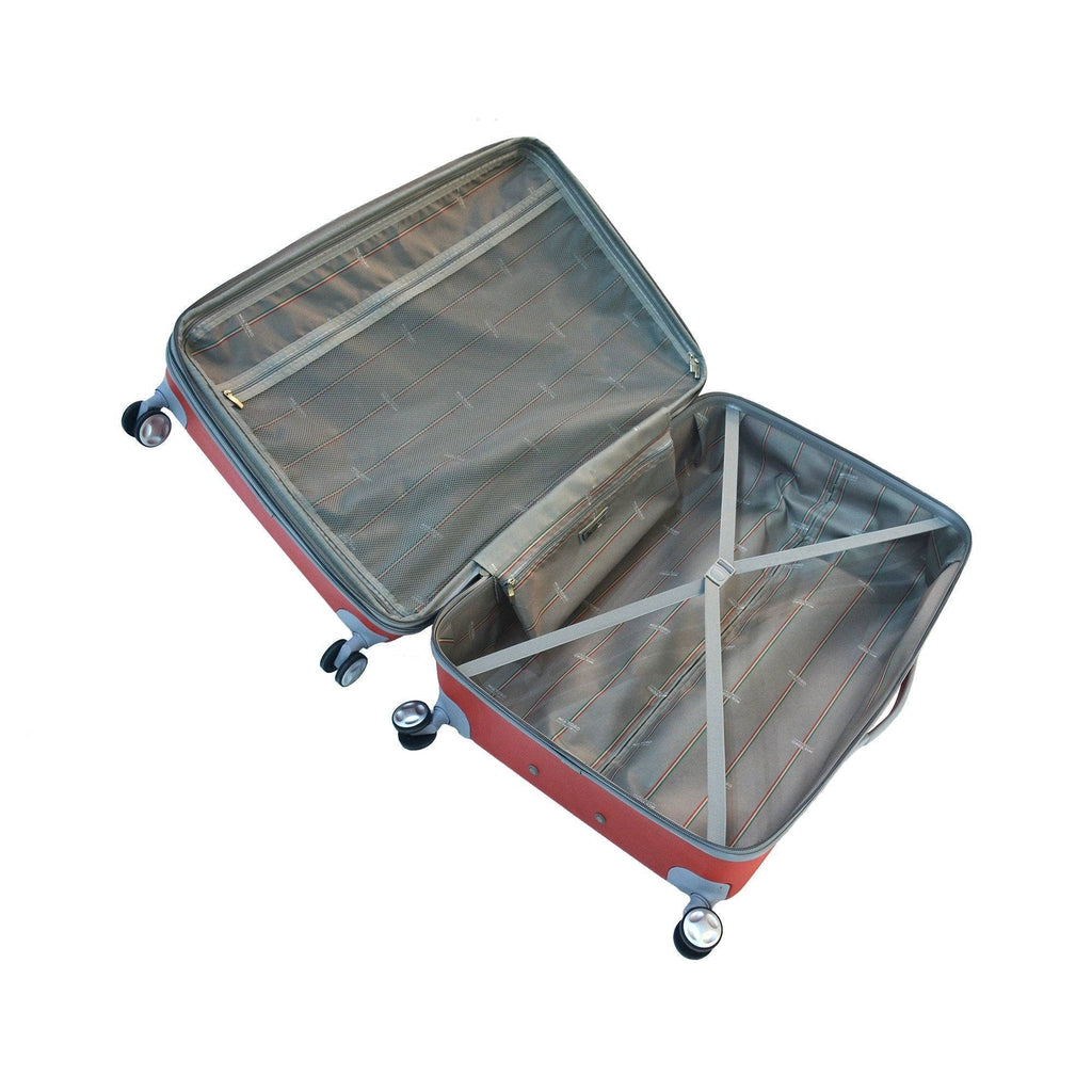Mia Toro ITALY Mezza Tasca  Hardside Spinner Luggage - My Gaia Travel Buddy