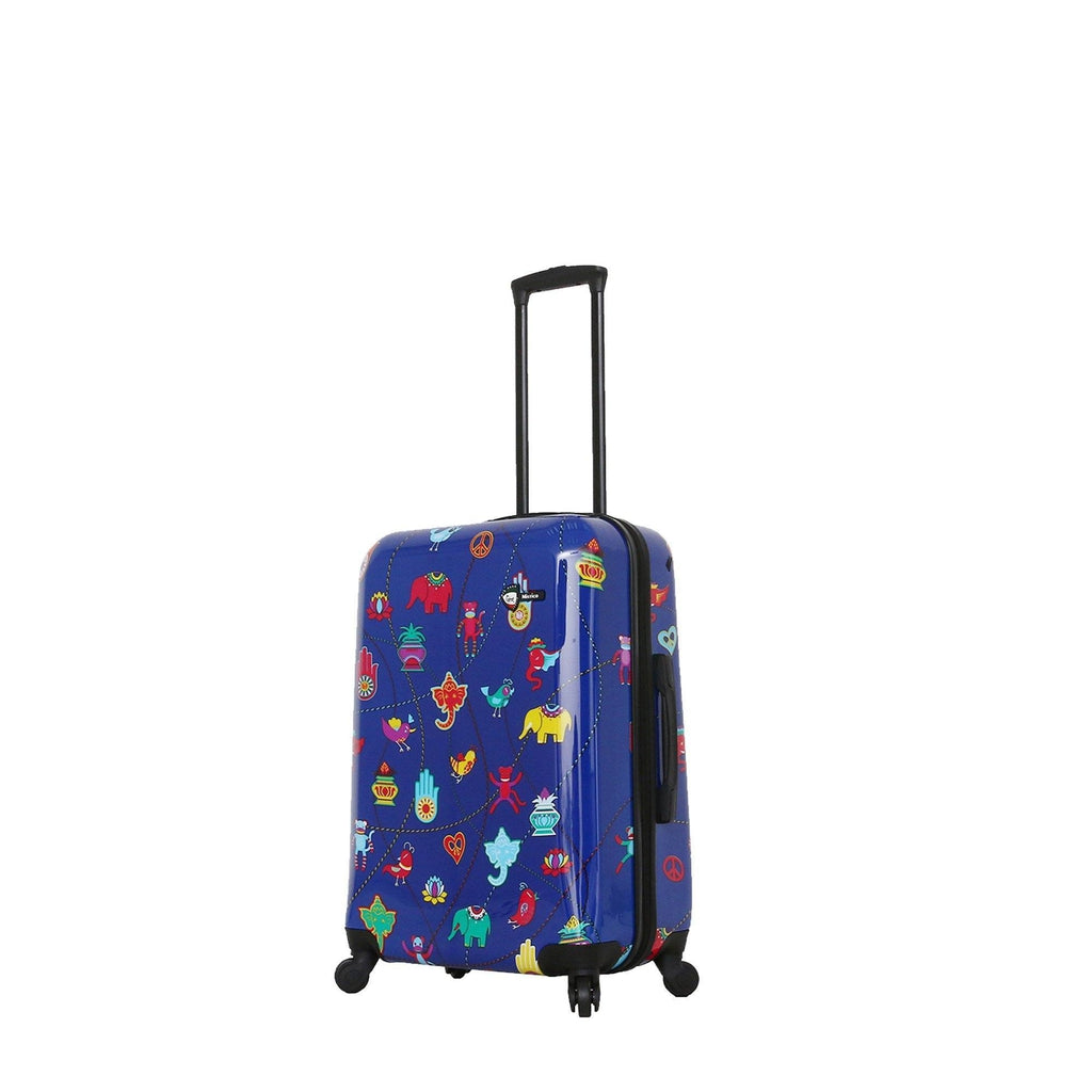 Mia Toro ITALY Mistico Hardside Spinner Luggage - My Gaia Travel Buddy