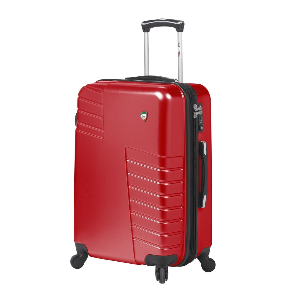 Mia Toro ITALY Mondavio Hardside 24, 28 Inch Spinner Luggage - My Gaia Travel Buddy