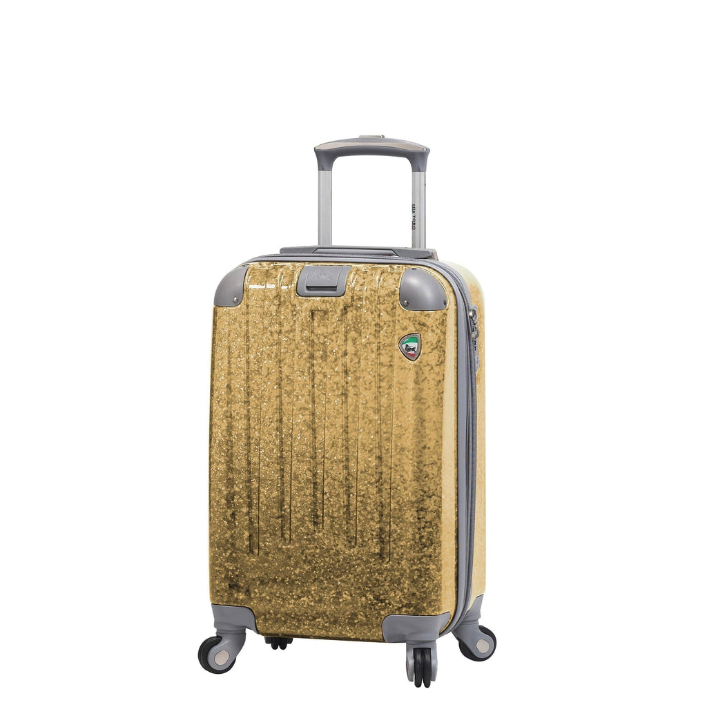 Mia Toro ITALY Particella Hardside Spinner Luggage - My Gaia Travel Buddy
