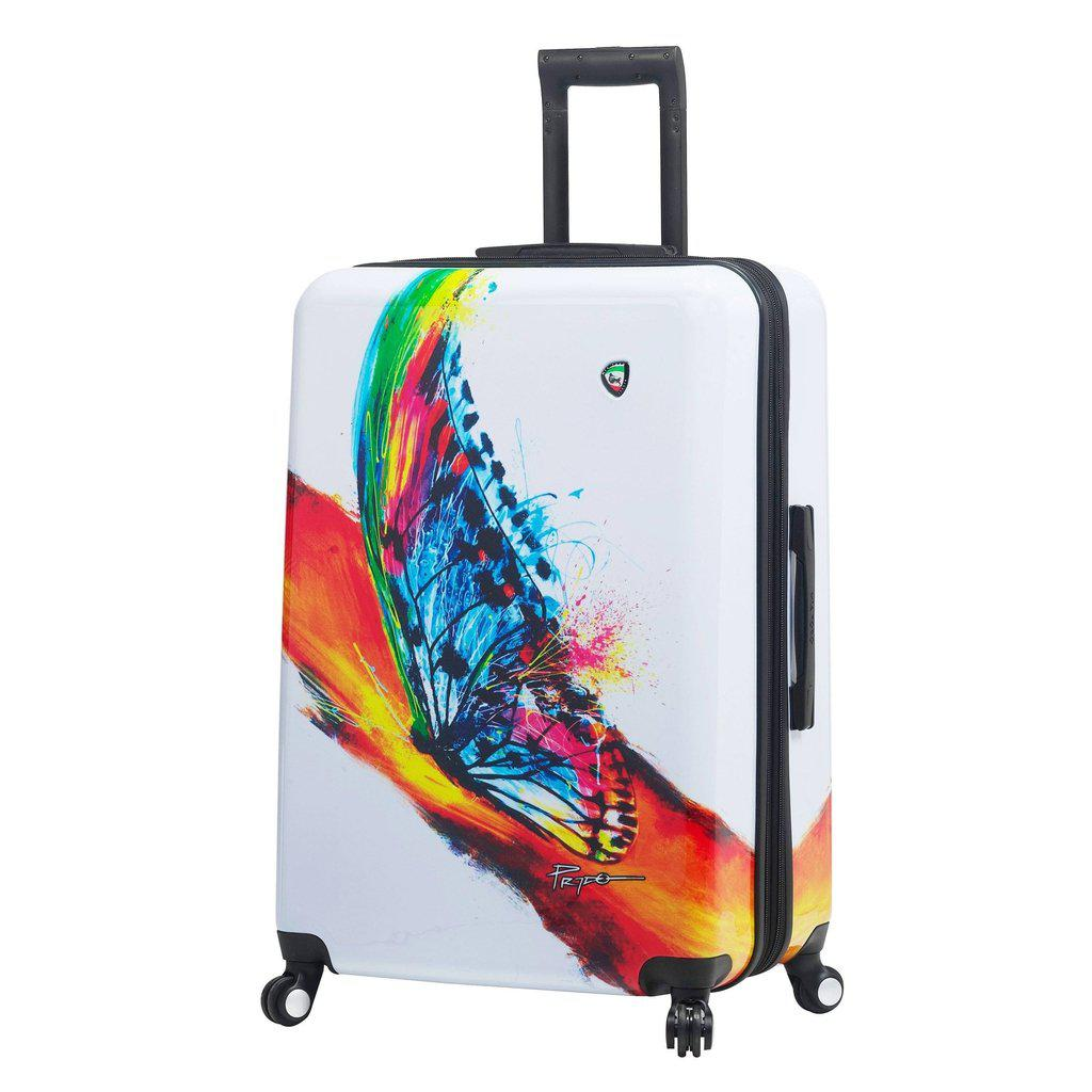 Mia Toro ITALY Prado-Exotic Life Hardside Spinner Luggage - My Gaia Travel Buddy