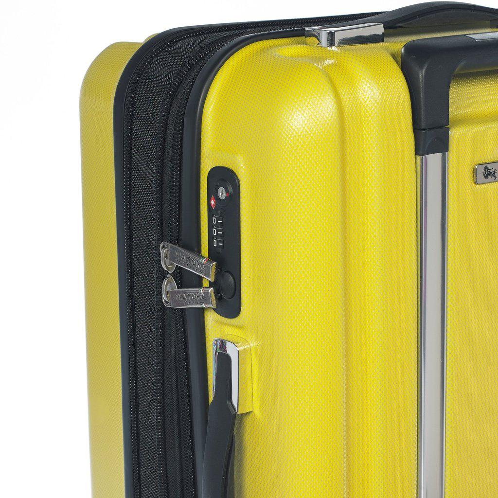 Mia Toro ITALY Primario Hardside Spinner Luggage - My Gaia Travel Buddy