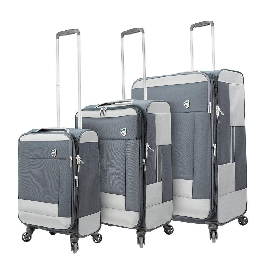 Mia Toro ITALY Reka Softside Spinner Luggage 3PC Set - My Gaia Travel Buddy