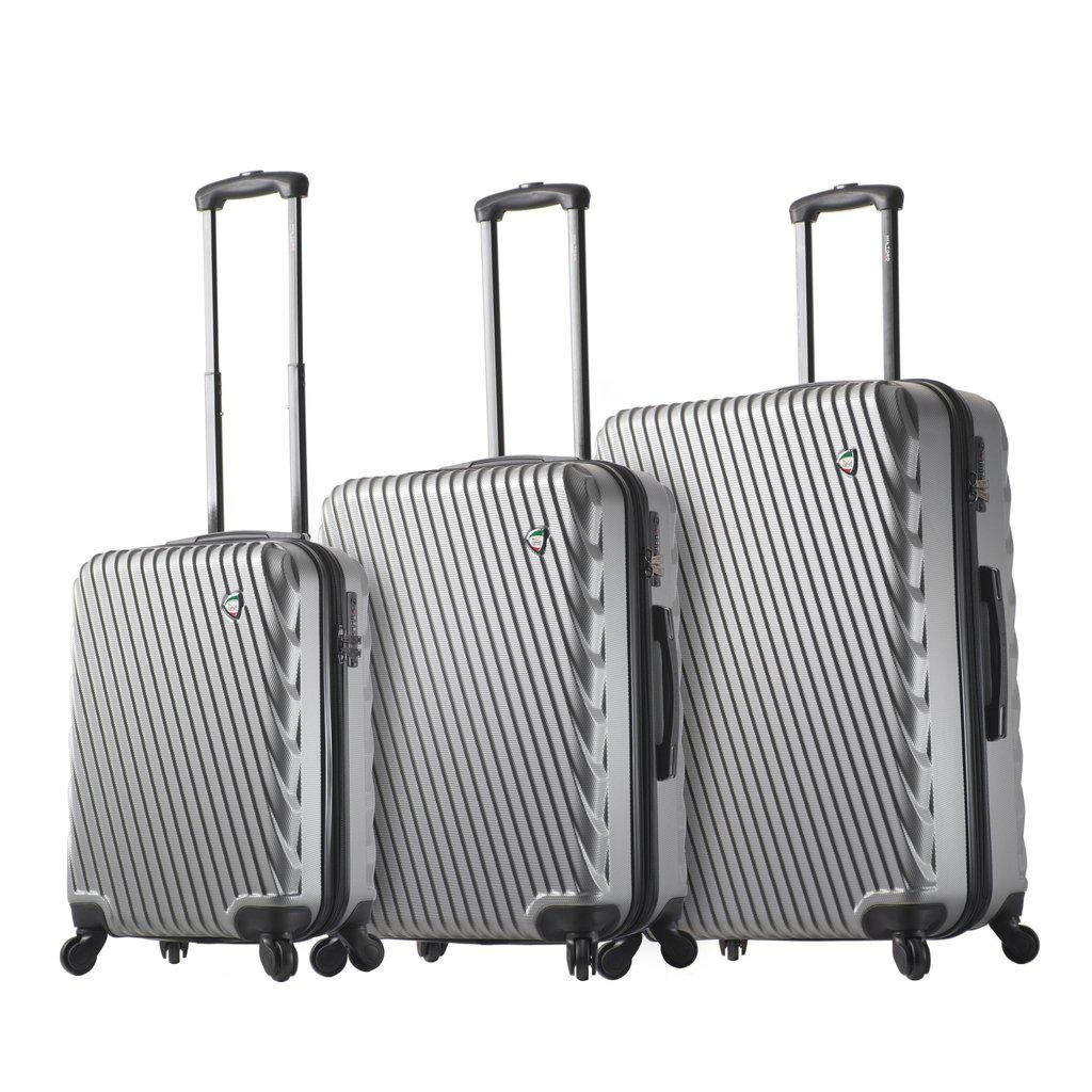 Mia Toro ITALY Roulgatti Hardside Spinner Luggage - My Gaia Travel Buddy