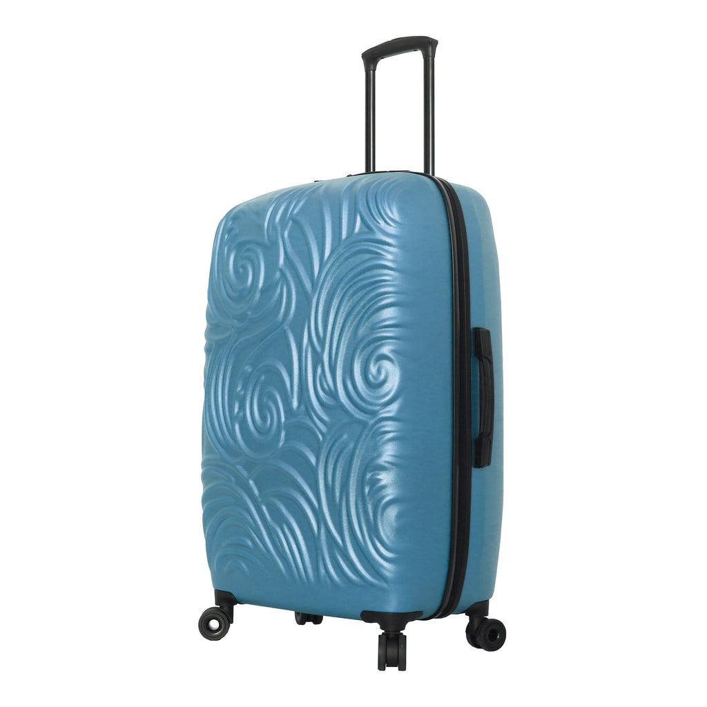 Mia Toro ITALY  Swirl Hard Side Spinner Luggage - My Gaia Travel Buddy
